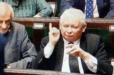 Jarosławowi Kaczyńskiemu nie mogło się spodobać wystąpienie posłanki Siarkowskiej.