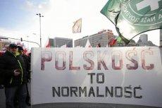 Rzecznik Młodzieży Wszechpolskiej został wyrzucony za słowa o separatyzmie rasowym.