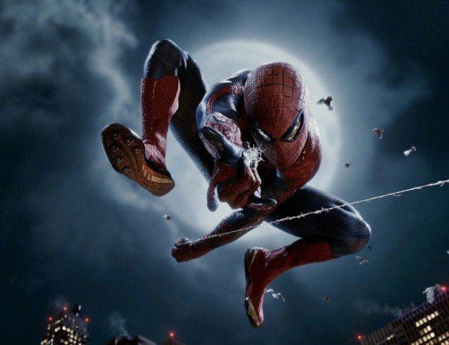 """Plakat promujący """"Niesamowitego Spider-Mana"""""""