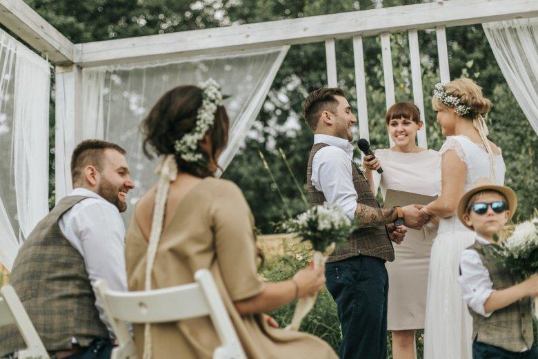 Ślub humanistyczny Natalii i Teodora