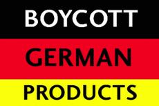 Internauci bojkotująniemieckie produkty.