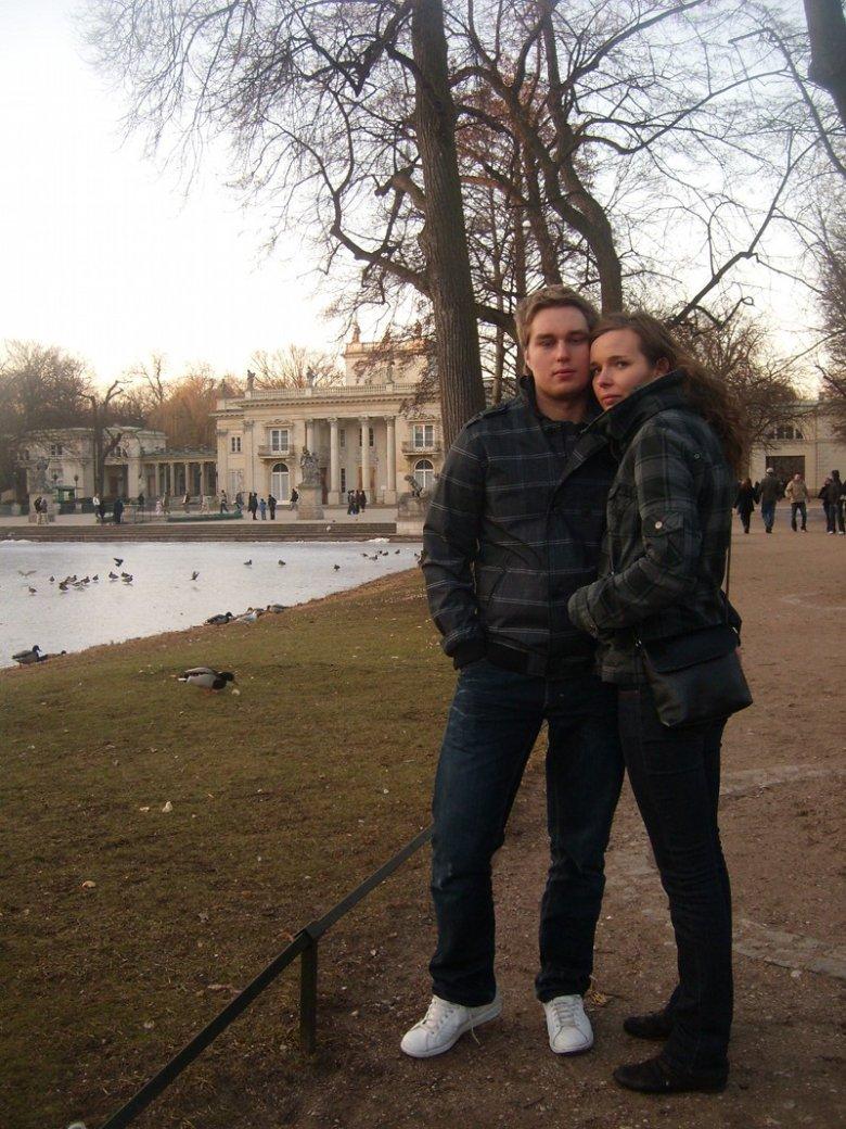 Na zdjęciu Emilia z mężem Pawłem