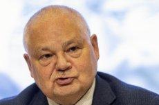 """NBP przegrał z """"Gazetą Wyborczą"""", ale to nie koniec sprawy. Na zdjęciu szef banku centralnego Adam Glapiński."""