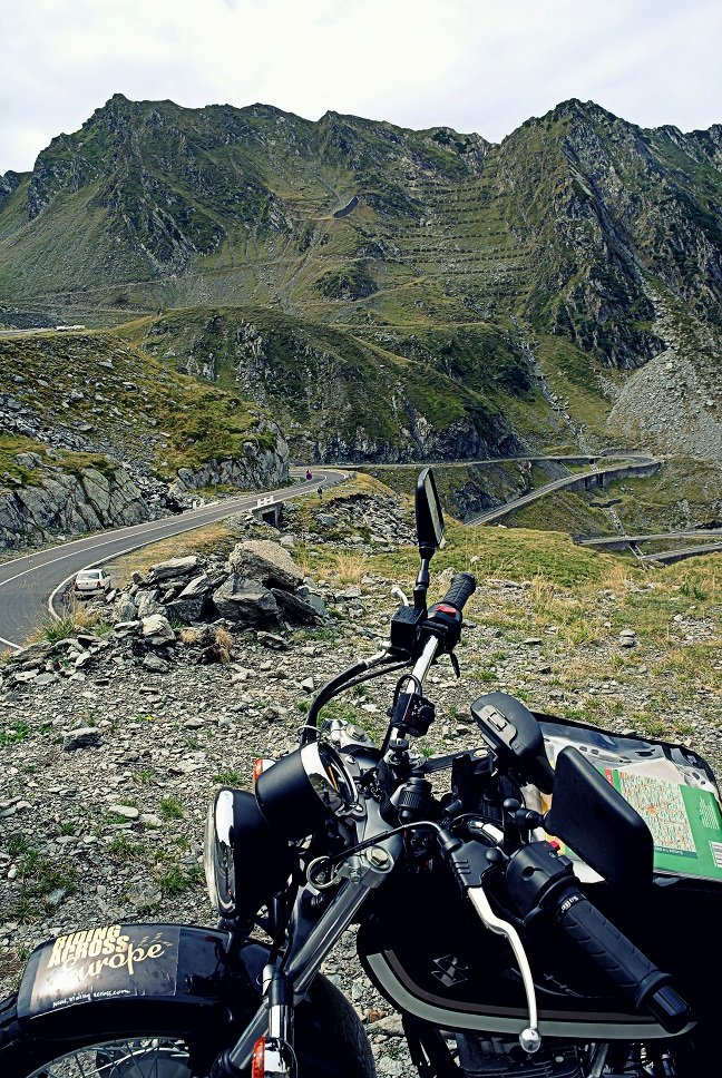 Riding Across Europe
