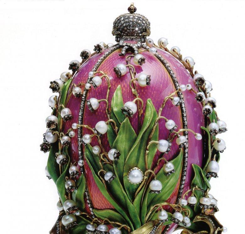 Jajko konwaliowe Fabergé