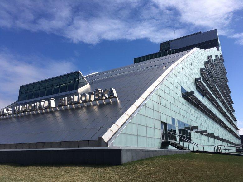 Biblioteka Narodowa w Rydze.