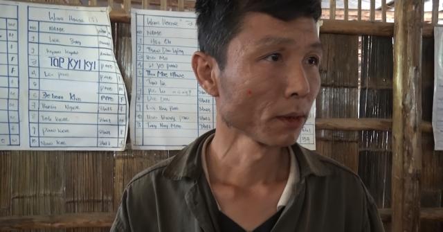 Sweden. Birmańczyk żyjący w obozie dla uchodźców na terenie Tajlandii