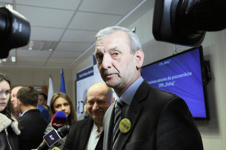 Politycy PiS twierdzą, że Sławomir Broniarz zarabia 12 tys. zł. Szef ZNP nie ujawni wysokości swojego wynagrodzenia.