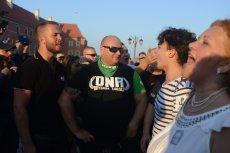 """Szef MSWiA uważa, ze rozwiązanie wczorajszej demonstracji ONR było """"od czapy""""."""