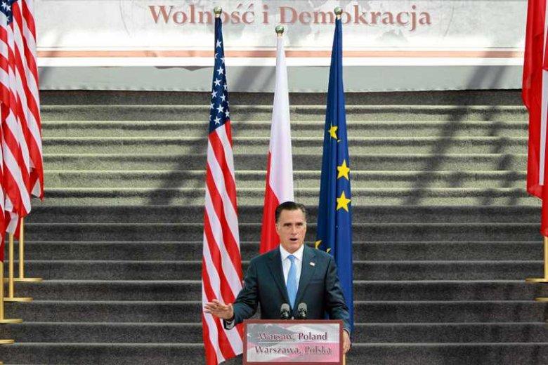 Mitt Romney w Polsce