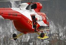 Ratownicy TOPR uratowali kobietę, która wybrała się w góry w dżinsach