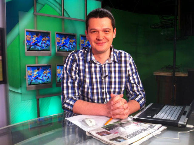 Lucian Lipovan, dziennikarz rumuńskiego ProSport