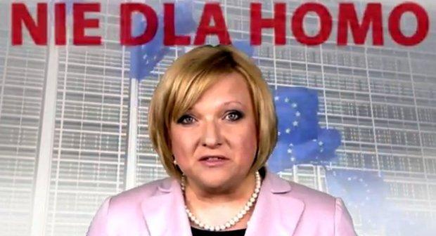 Beata Kempa w spocie Solidarnej Polski