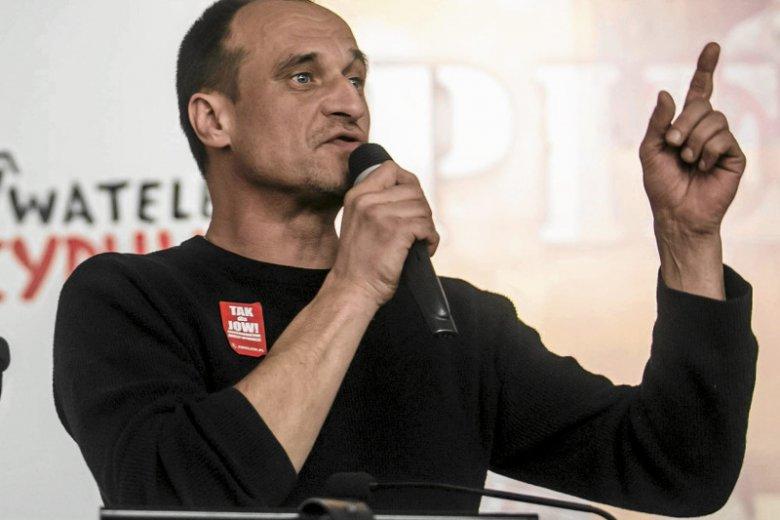 Paweł Kukiz deklaruje, że nie zagłosuje w wyborach do Parlamentu Europejskiego.