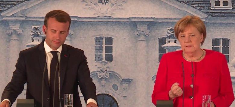 W zamku Meseberg w Brandenburgii Angela Merkel i Emmanuel Macron zawarli porozumienie ws. budżetu strefy euro.