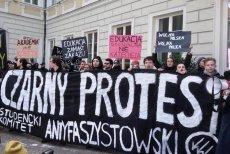 """Aktywiści Studenckiego Komitetu Antyfaszystowskiego okupowali w środę warszawską kurię. Chcieli zaprotestować przeciwko projektowi """"Zatrzymaj Aborcję"""""""