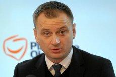 Poseł Sławomir Nitras zasłabł na pokładzie samolotu do Warszawy.