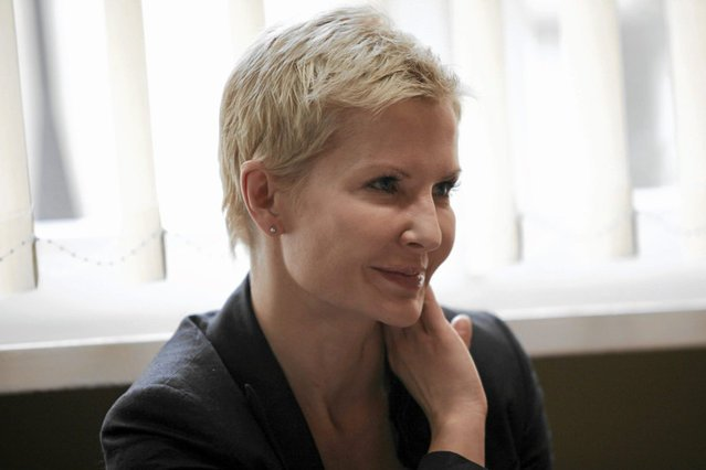 Joanna Racewicz pożegnała się z widzami TVP2.