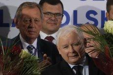 Jarosław Kaczyński też upolitycznia śmierć Jana Szyszko.