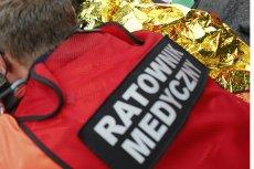 Ratownik medyczny z Pabianic został zatrzymany przez policję.