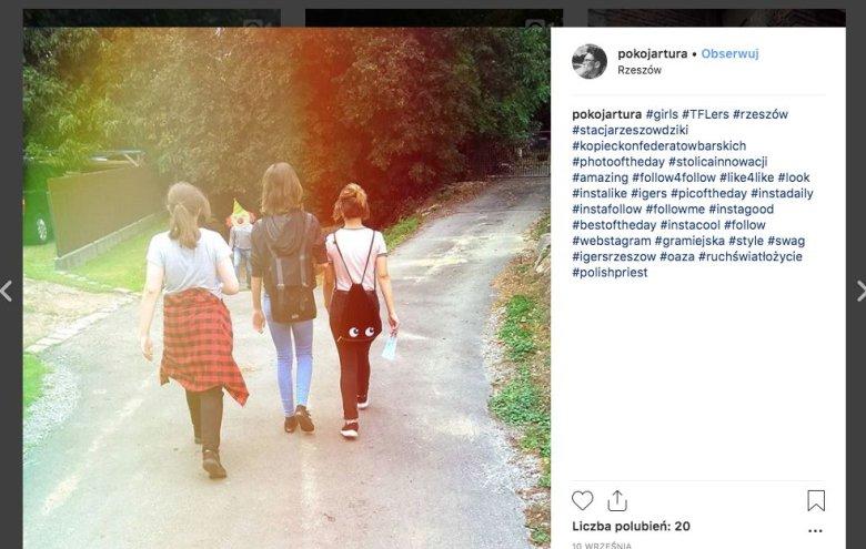 Na Instagramie Hippe zamieszczał tego typu zdjęcia...
