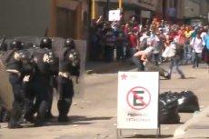 W zamieszkach w Wenezueli zginęły trzy osoby. Reżim strzelał do protestujących studentów