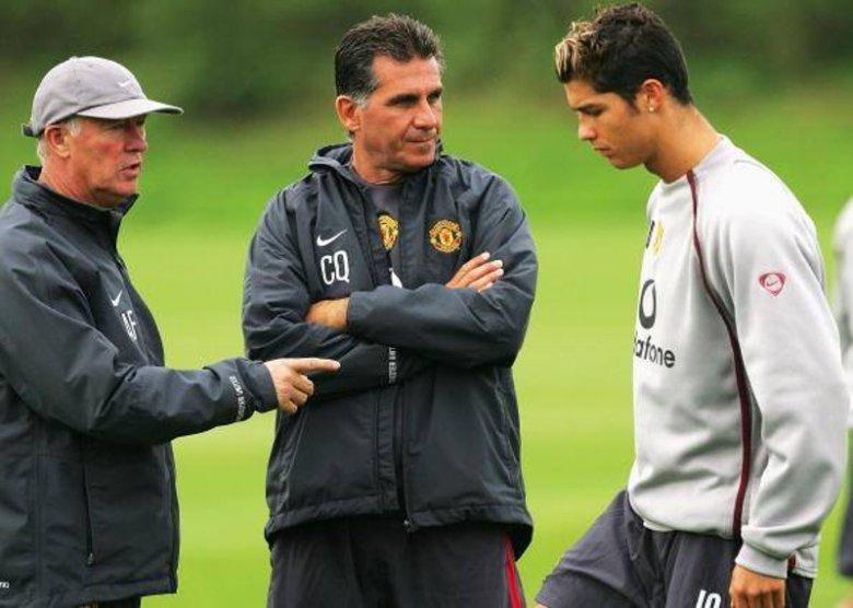 Sir Alex Ferguson wypowiadał się o Queirozie w superlatywach.