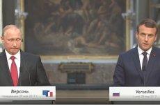 Mina Putina mówi wszystko o jego wizycie we Francji. Macron dał prezydentowi Rosji parę dotkliwych prztyczków