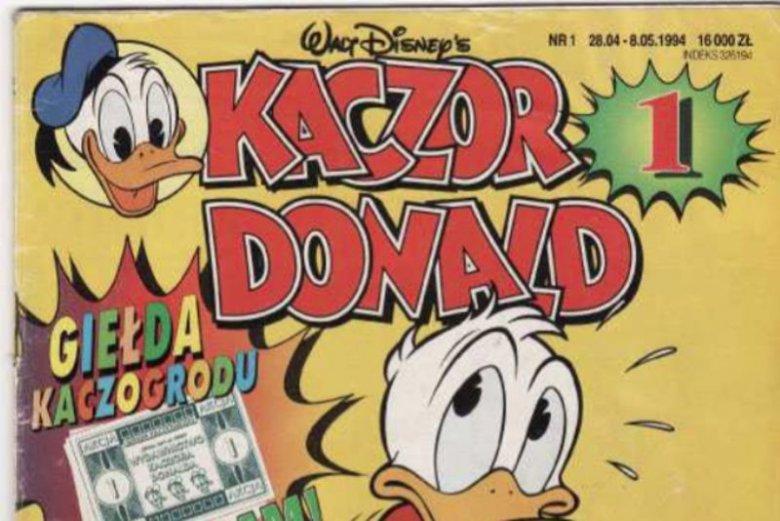 """""""Kaczor Donald"""" ma już 25 lat."""