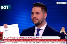 Patryk Jaki w czasie debaty zademonstrował swoje odejście z Solidarnej Polski