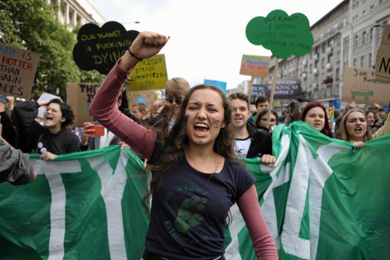 Młodzieżowy Strajk Klimatyczny odbył się w piątek 20 września w ponad 60 miastach w całej Polsce.