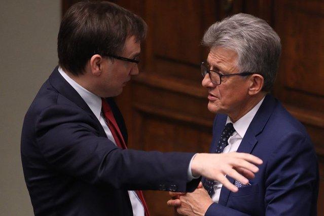 Zbigniew Ziobro i Stanisław Piotrowicz