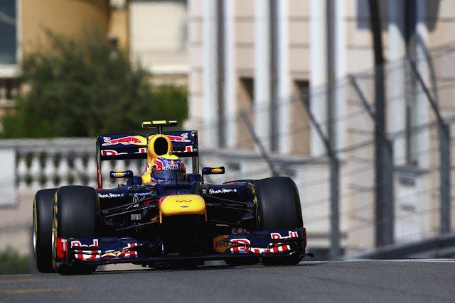 Mark Webber wykorzystał okazję i wygrał wyścig o GP Monaco