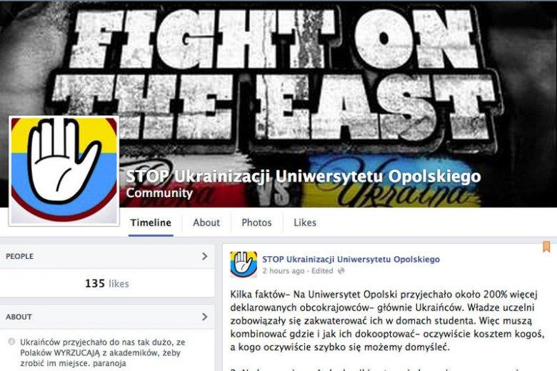 """""""Stop ukrainizacji Uniwersytetu Opolskiego"""". Polscy studenci przekonują, że są dyskryminowani"""
