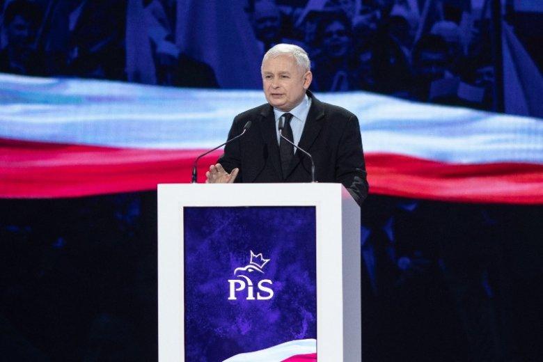 Jarosław Kaczyński żartował ze spodni tłumaczki
