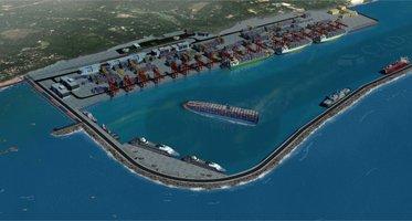 Międzynarodowy Port Vizhinjam. Wizualizacja