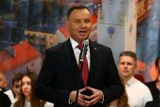 Andrzej Duda po raz pierwszy w historii jako prezydent odwiedził Namysłów. Opowiedział o tym, że Polska jest atakowana, bo rozpycha się łokciami.