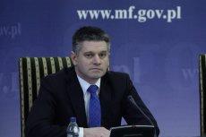 Na zdjęciu Jacek Kapica, wiceminister finansów w rządzie PO-PSL.