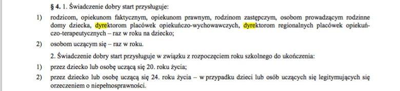 Fragment rozporządzenia.