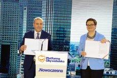 Platforma Obywatelska i Nowoczesna zawiązały Koalicję Obywatelską, by razem wygrać nadchodzące wybory