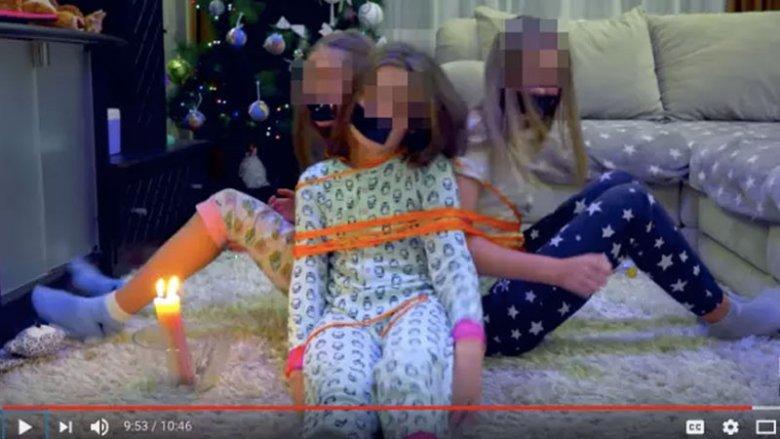Nie wszystkie filmiki, na których są wykorzystywane dzieci, muszą epatować erotyką. Powyższy kanał już nie istnieje