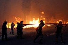 Pożary w Grecji pochłonęły już co najmniej 60 ofiar.