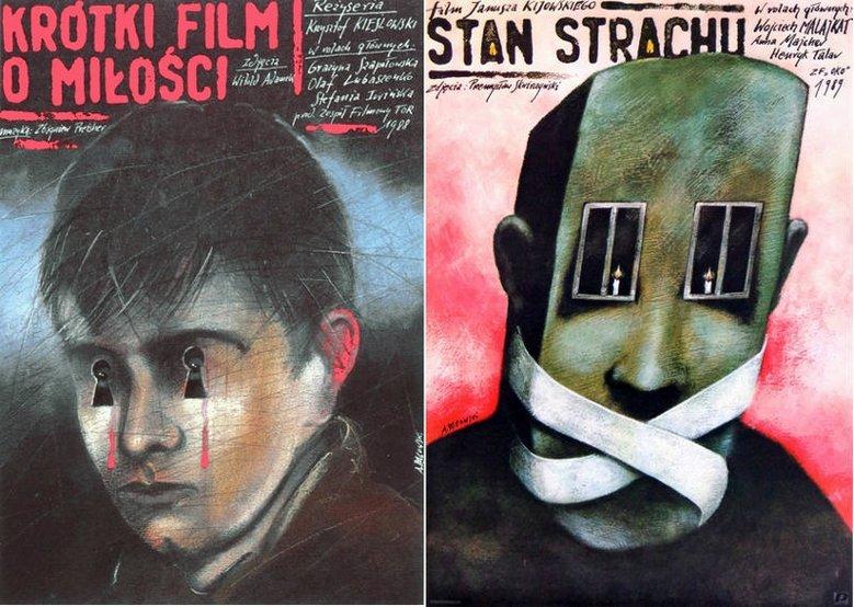 Plakaty autorstwa Andrzeja Pągowskiego