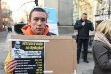 16-latkiem zajmie się sąd. Wszystko przez symboliczny protest przeciwko pedofilii w kościele.