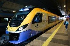 Pociąg Kolei Małopolskich. W wybranych połączeniach przewoźnika 21 i 24 grudnia możliwa będzie spowiedź.