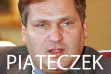 """Aleksander """"piąteczek"""" Kwaśniewski"""