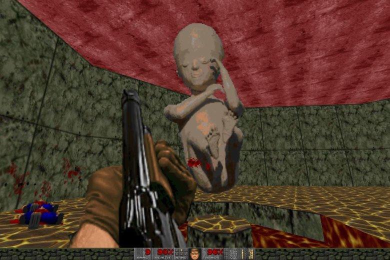 Doom Fetito to budzący ogromne kontrowersje mod gry komputerowej