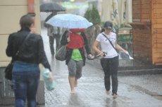W niektórych regionach kraju wystąpią deszcze i burze.