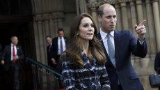 Kate i William podczas tegorocznej wizyty w Manchesterze