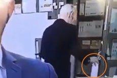 Mężczyzna próbował się napić płynu do dezynfekcji.